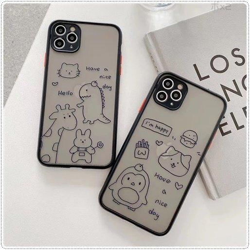 <img class='new_mark_img1' src='https://img.shop-pro.jp/img/new/icons6.gif' style='border:none;display:inline;margin:0px;padding:0px;width:auto;' />かわいい 恐竜、ペンギン マットスマホケース iPhone  ★取寄せ