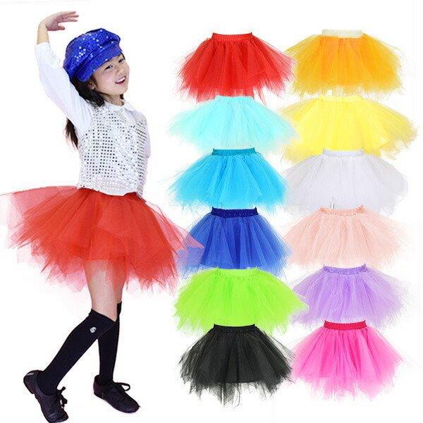 □■PA61133 キッズ 迫力ボリューム!カラーパニエスカート | チュチュ スカート 子供