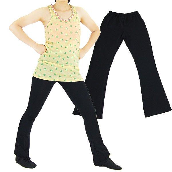 ★EH2013 キッズダンスパンツ(薄手) ブラック★キッズ ダンス パンツ 子供 ダンス ヒップホップダンス衣装