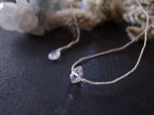 muule / Harkimer diamond + W.Labradorite rope necklace<img class='new_mark_img2' src='//img.shop-pro.jp/img/new/icons8.gif' style='border:none;display:inline;margin:0px;padding:0px;width:auto;' />