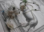 - Crystal - antique crystal necklace
