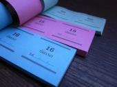 タイのパーキングチケット M