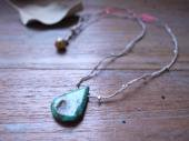 Turquoise + KSV rope necklace