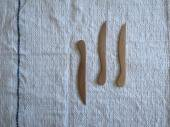 チークウッドのミニナイフ