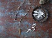 Himalayan crystal rope necklace