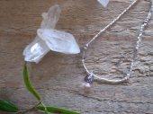 bracelet : Elestial + Silver beads
