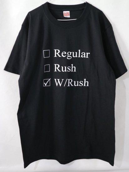 RESISTANTオリジナルTシャツ(W/Rush※カラー選択)