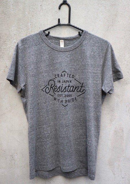 RESISTANTオリジナルTシャツ(トライブレンド※ボディカラー選択)