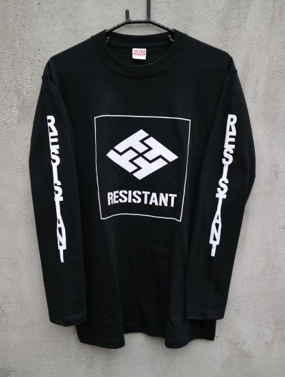 Long sleeve print T shirt※カラー・サイズ選択