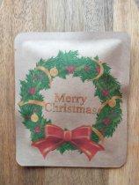 【クリスマス】「緑のリース」ドリップバッグNo.137