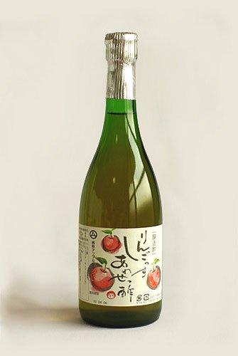 ◆醸造酢 りんご酢 「りんごっす しあわせっ酢」(りんご酢100%) 720ml