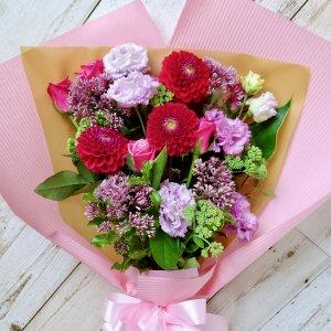花束「ピンクミックス」