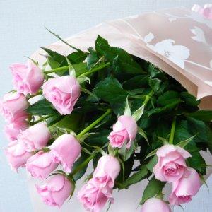花束「ピンクバラの花束」