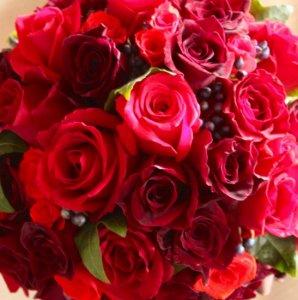 3000円から選べるおまかせ花束・レッド系