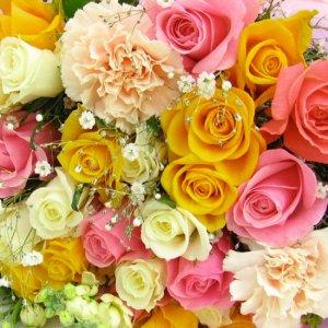 3000円から選べるおまかせ花束・ミックス系