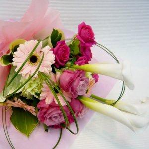 花束「ピンクのかわいいブーケ」