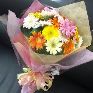 花束「ガーベラのお花束」