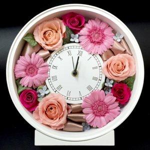 プリザーブドフラワー「花時計-サークル-」