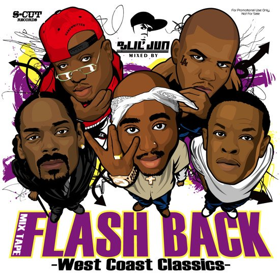 DJ Lil Jun/Flash Back -West Coast Classics-