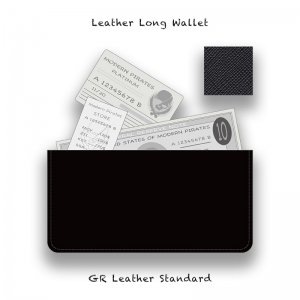 <img class='new_mark_img1' src='//img.shop-pro.jp/img/new/icons13.gif' style='border:none;display:inline;margin:0px;padding:0px;width:auto;' />【 Leather Long Wallet /  Standard  】(GR Leather)