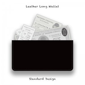 【 Leather Long Wallet /  Standard  Design 】