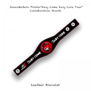 【 IkuoxModern Pirates Solo Tour Collaboration Goods / Leather Bracelet 】