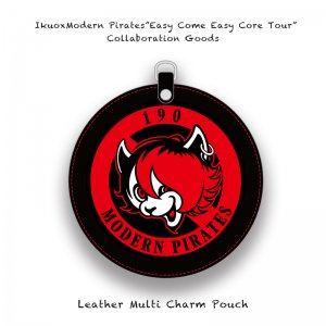 【 IkuoxModern Pirates Solo Tour Collaboration Goods / Leather Multi Charm Pouch 】