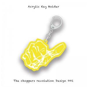 【 Acrylic Key Holder / The choppers revolution Design 001 】