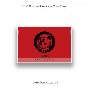 【 IKUO Road to Tomorrow Tour Goods / 2020 Desk Calendar 】