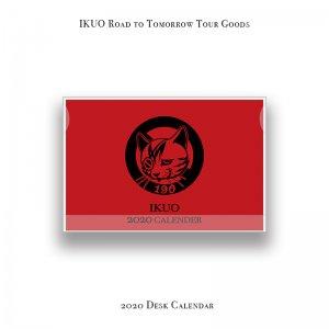 【 IKUO Road to Tomorrow Tour Goods / 2020 Desk Calendar 】