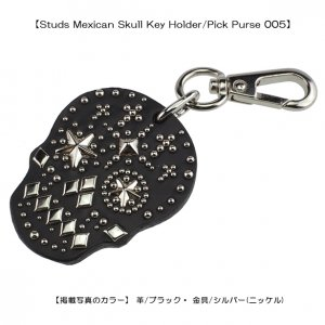 Studs Mexican Skull Key Holder/Pick Purse005