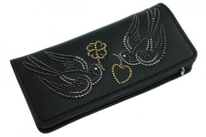 Twin Swallow Long Wallet