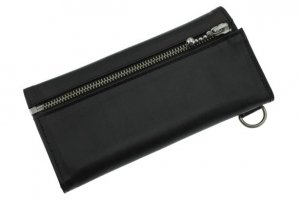 Zip Up Basic Long Wallet/Soft Leather