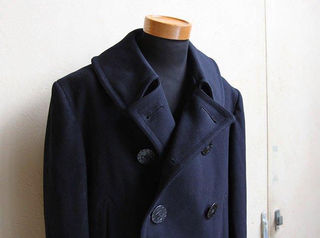 30 S Quot U S Navy Quot 13 Stars 10 Button P Coat Matin Vintage