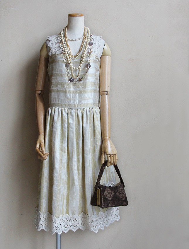 【SALE】【20%OFF】Luxury Vintage Camisole Dress   MATIN, VINTAGE OUTFITTERS  ビンテージ古着 富山