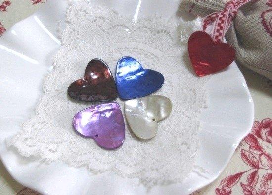 """フランス """"ハート * Violet """" デザインパーツ:画像3"""