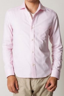 オックススリムフィットシャツ(ピンク・XSサイズ/Sサイズ)