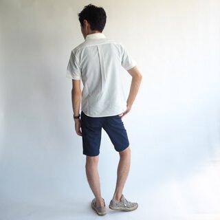 37b75b841e54d2 小柄・低身長な男性のための軽量サッカー半袖シャツ/ホワイト メンズXSサイズ Retropics.