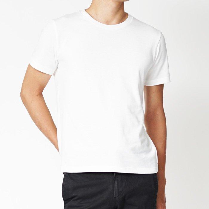 サイズと質にこだわった小柄・低身長のための半袖Tシャツです。シンプルだからこそディテールに力を入れた、ここにしかないXSサイズの半袖カットソーです。
