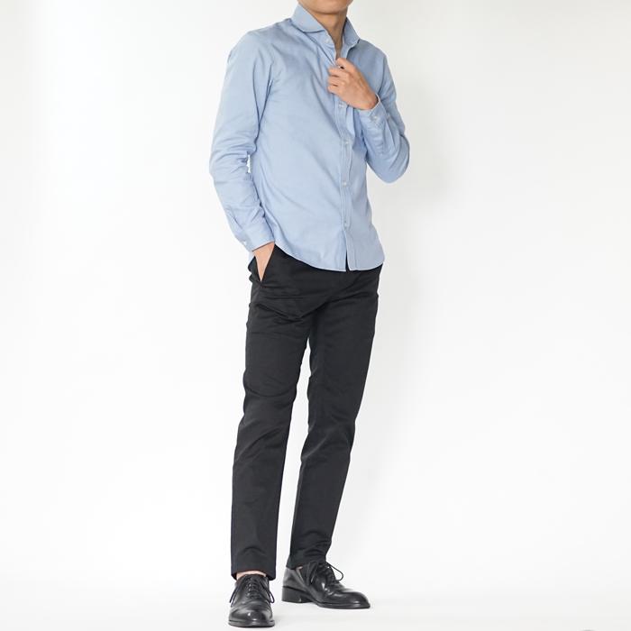 オールシーズンにオンオフどちらでも着られる万能XSサイズシャツ。