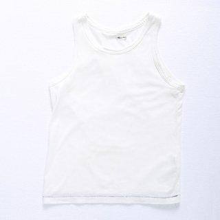 U字タンクトップ(ホワイト・XSサイズ)
