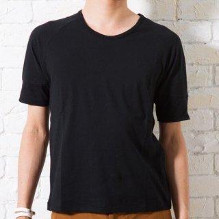 半袖ラグランTシャツ(ブラック・XSサイズ)