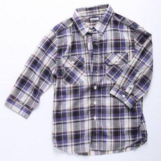 春〜夏に着られるように七分袖のメンズXSシャツを企画しました。 生地は春夏向け素材の定番、麻100%。
