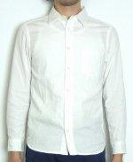 【完売】オックスフォードベーシックシャツ(ホワイト) XSサイズ