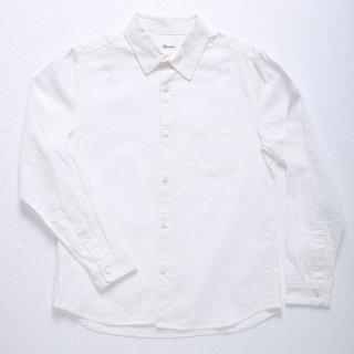 【完売】男の定番!カジュアル感あるベーシックオックスフォードシャツ(ホワイト) XSサイズ