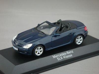1/43 メルセデスベンツ SLK-Klasse (ブルー) 【ミニチャンプス】
