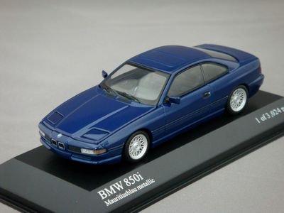 1/43 ミニチャンプス BMW 8-Series 1991 (ブルーメタリック)