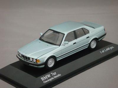 1/43 ミニチャンプス BMW 7-Series 1986 (グリーンメタリック)