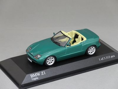 1/43 ミニチャンプス BMW Z1 1991 (グリーンメタリック)