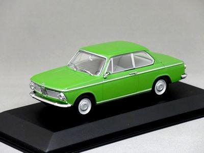 1/43 ミニチャンプス BMW 1600-2 (ライトグリーン)